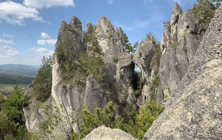 LITTLE DOLOMITES IN SLOVAKIA & THE GOTHIC GATE