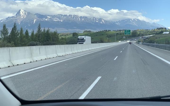 HIGH TATRA MOUNTAINS with KRIVAN PEAK