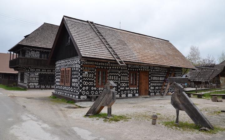 Čičmany Village