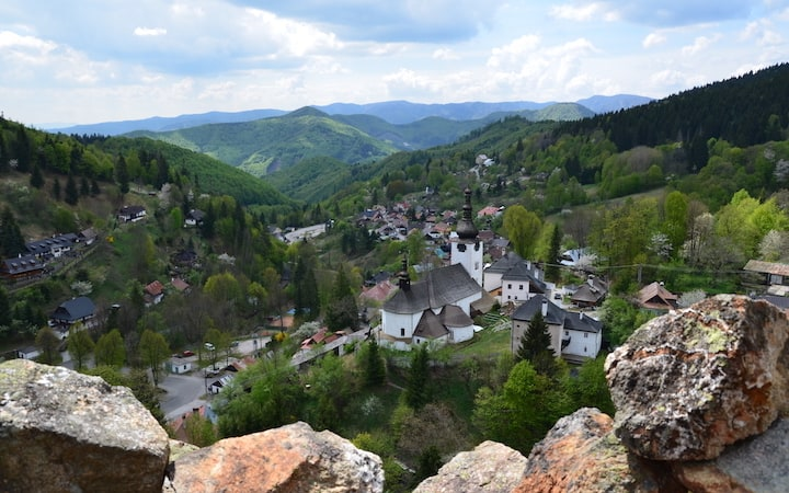 Breath-taking views from the top of Halda hill / Spania Dolina